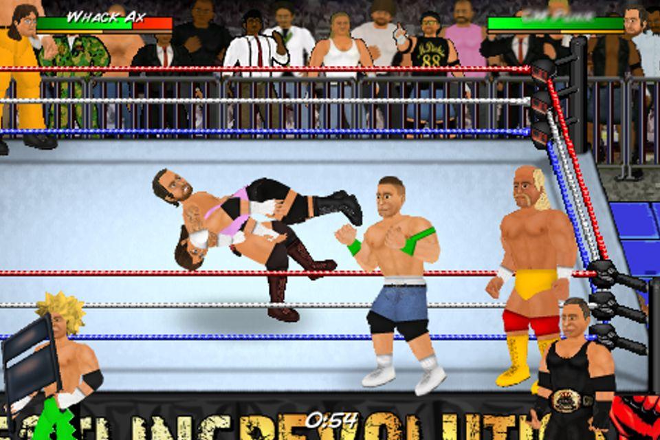 Wrestling revolution на пк скачать
