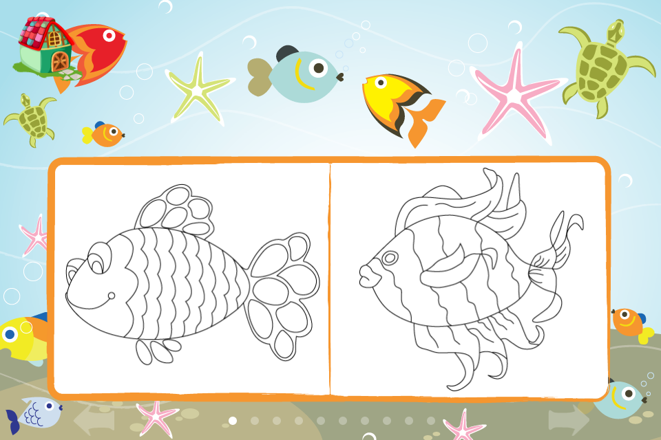 Screenshot Kids Coloring Studio HD